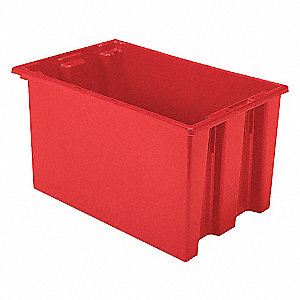 TOTE 23.5X15.5X12 N.S.T. RED