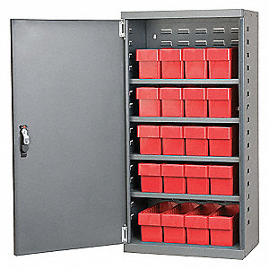 CABINET,GRY,STEEL DR,RD DRWRS,31142