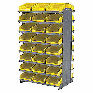SHELVING WITH BINS