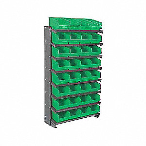 PICK RACK,SNGL-SIDED,GRY SHELFMAX