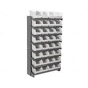 PICK RACK,SNGL-SIDED,WH SHELFMAX