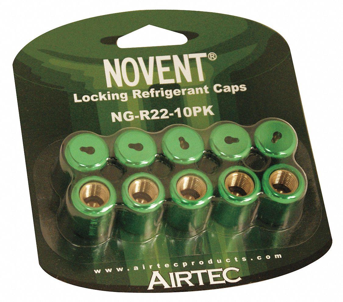 Refrigerant Cap Locks