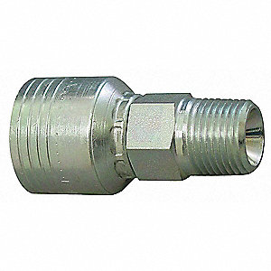 Hydraulic Hose Fitting,Male NPT,5/8in,-8