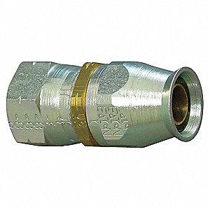 Hydraulic Hose Fitting, Straight, 5/8