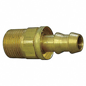 Hydraulic Hose Fitting, Straight, 3/8