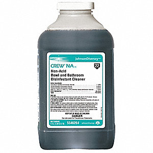 Bathroom Disinfectant Cleaner, For Use With J-Fill® QuattroSelect® Portion Control Systems, 2 PK