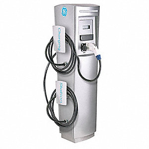 "14.90"" x 13.80"" x 51.10"" 30 Amp Electric Vehicle Charging Station"