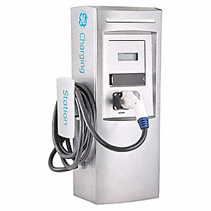 "11.82"" x 11.16"" x 31.52"" 30 Amp Electric Vehicle Charging Station"