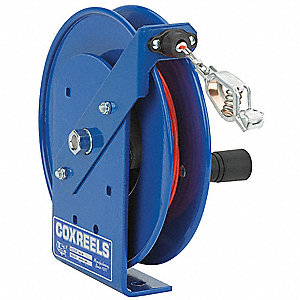 STATIC DISCHARGE CABLE REEL, REEL O