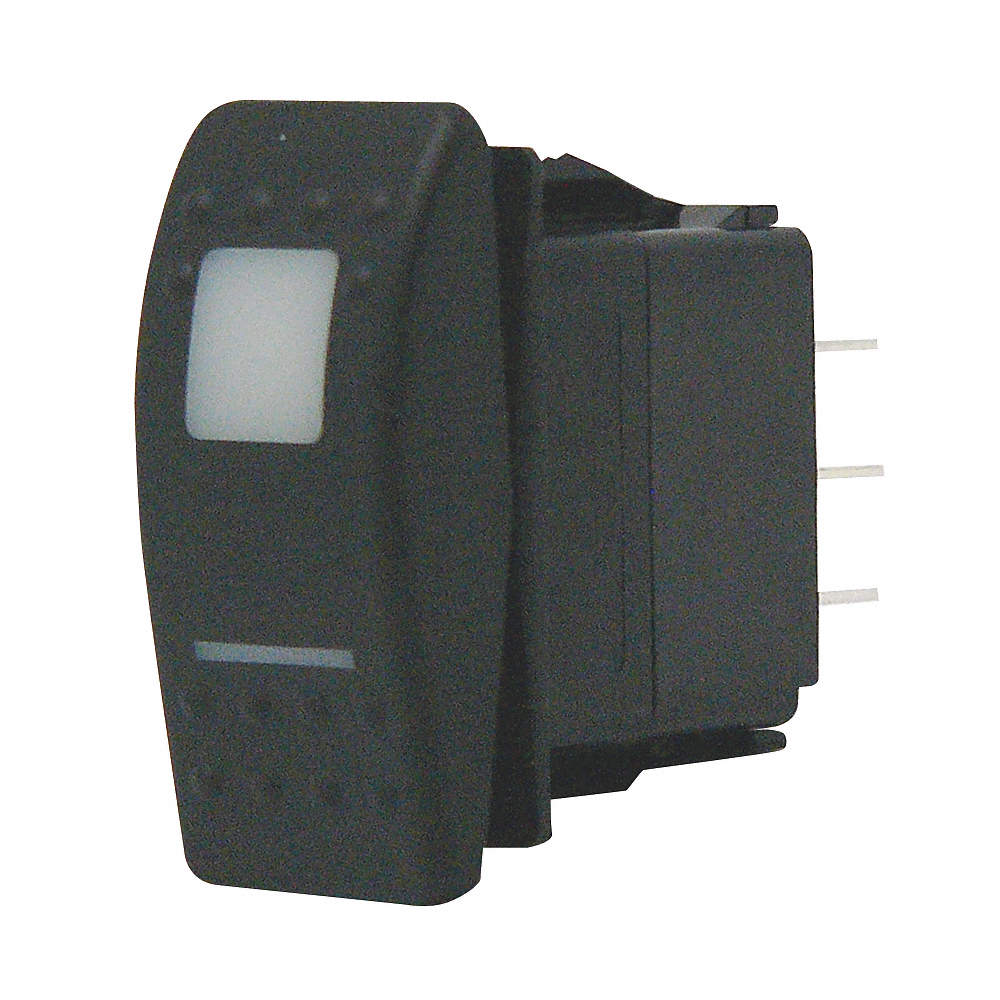 CARLING TECHNOLOGIES Lighted Rocker Switch, Contact Form: SPDT ...