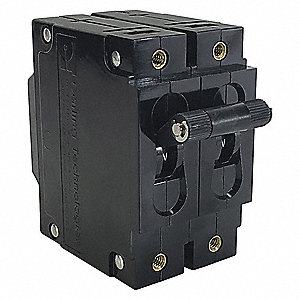 Circuit Breaker,Magnetc,50A,2Pole,Toggl