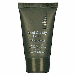 Hand and Body Lotion,Tube,0.53oz,PK400