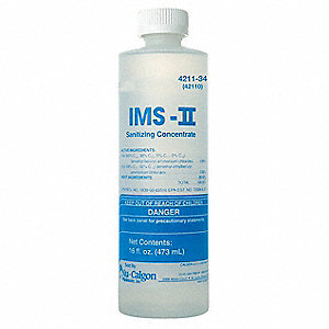 Ice Machine Sanitizer,1 pt,White