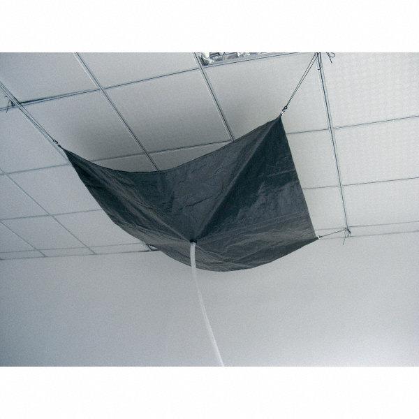 Grainger Approved Roof Diverter 10 Ft X 10 Ft Hang By