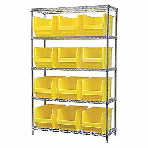WIRE SHELVING,30282,YEL AKROBINS