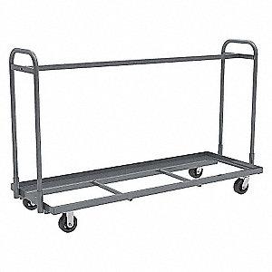 "Mobile Bin Cart,1500 lbs,78""x27-1/2""x48"""