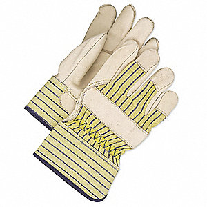 GLOVES FITTERS GRN PALM K/W