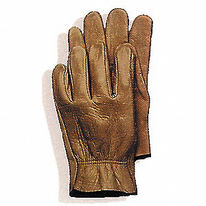 GLOVES DRIVER GRN COW SZ.10