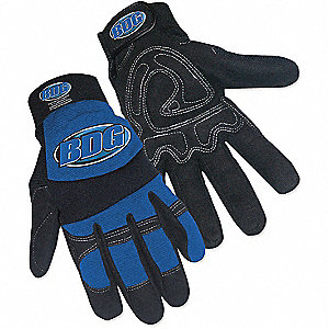 GLOVES MECHANIC NBLU MED
