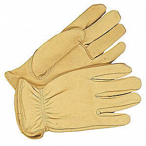 GLOVES DRIVER DEERSKIN LEATHER SML