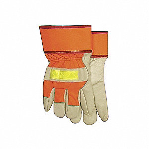 GLOVES HIVIZ GRAIN FITTER PILE LINE