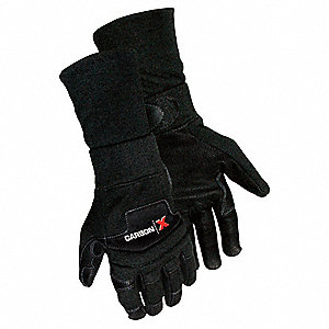 GLOVES CARBON X MECHANIC WITH SLEEV