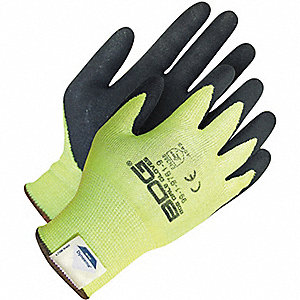 GLOVES HI-VIS DYNEEMA CUT 5 SZ 7