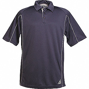 SHIRT GOLF MENS EPIC NAVY/SILVER