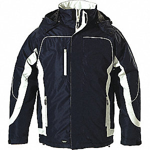 JACKET MENS WINTER NAVY STONE