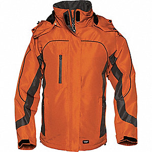 JACKET LADIES WINTER ORANGE GRAPHIT