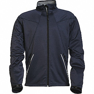 JACKET SPARK MENS SOFTSHELL NAVY