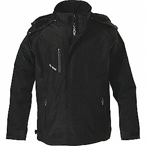 JACKET MEN/LADY 3N1 BLACK/BLACK