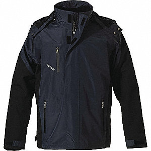 JACKET MEN/LADY 3N1 NAVY/BLACK