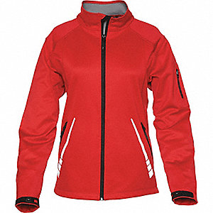 JACKET SPARK LADIES SOFTSHELL RED