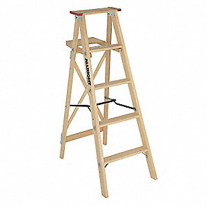 LADDER STEP WOOD HD INDUSTRIAL 4FT