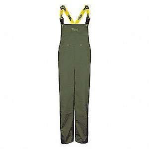 PANTS BIB DETACHABLE GREEN 2XL