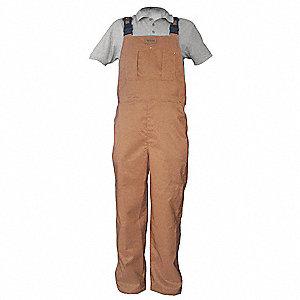 PANTS BIB SIDE ACCESS BROWN 3XL
