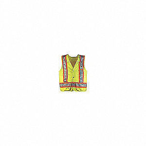 VEST SURVEY CSA BC LIME/YELLOW 3XL