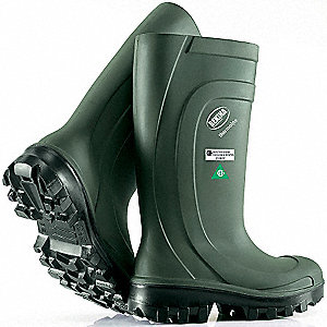 BOOT PU STEPLITE STEEL TOE+PLATE 11