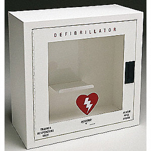 WALL CASE DEFIBRILLATOR METAL SML