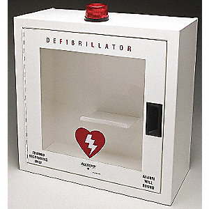 CASE WALL METAL DEFIB ALARM SMALL