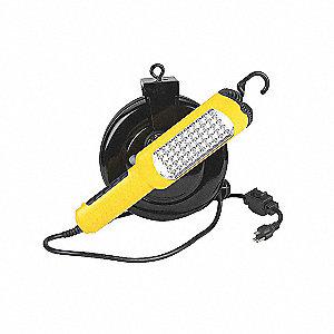 CORD REEL RETRACT 50 LED HAND LAMP