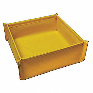 Spill Tray,4-3/4 In. H,18 In. L,18 In. W