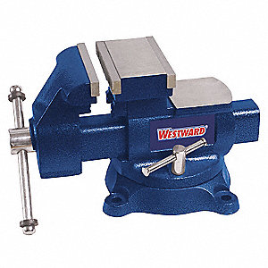 "Standard Duty Combination Vise, 5-1/2"" Jaw Width, 5-1/2"" Max. Opening, 3-3/4"" Throat Depth"