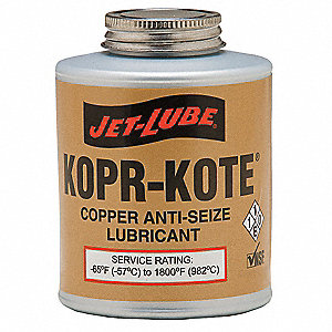 Anti Seize Compound, 4 oz. Container Size, 4 oz. Net Weight
