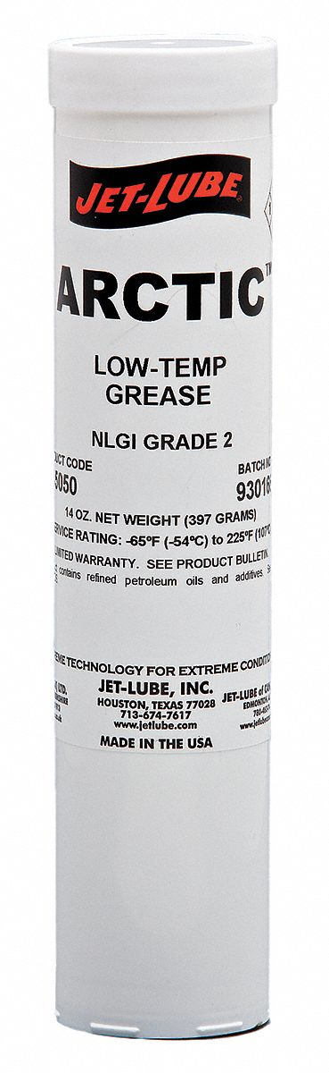 Amber,  Calcium Sulfonate,  Low Temperature Grease,  14 oz,  2 NLGI Grade