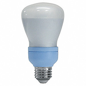 11.0 Watts  Screw-In CFL, R20, Medium Screw (E26), 340 Lumens 2500K Bulb Color Temp.