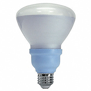 15.0 Watts Screw-In CFL, R30, Medium Screw (E26), 660 Lumens, 2500K Bulb Color Temp.