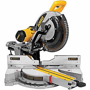 "12"" Compound Miter Saw, Double Bevel, 3800 No Load RPM, 15.0 Amps"
