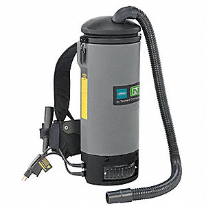 Backpack Vacuum Cleaner,10 qt.,1.8 HP
